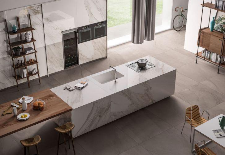 Piano Cucina In Gres Porcellanato Prezzi.Gres Porcellanato Moderno Gres Porcellanato 80x80